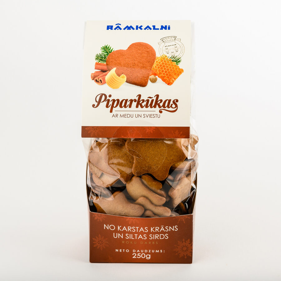 Piparkūkas ar sviestu un medu